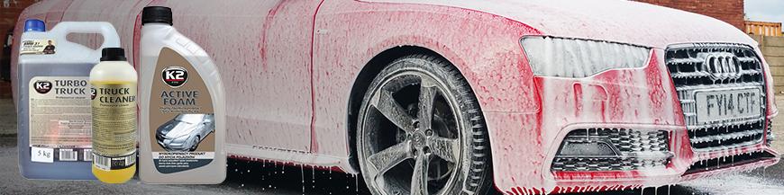 Spuma activa, detergent auto, detergenti cosmetica auto
