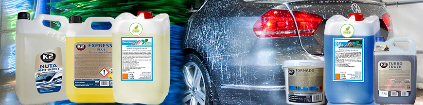 Spuma activa, detergent auto, spalatorie auto