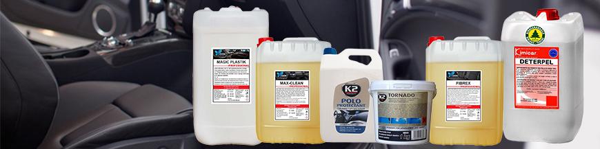 Detergent auto interior, spuma activa