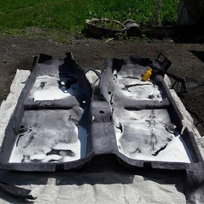 Solutie de curatat tapiterie auto cu spumare redusa